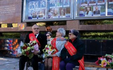 Любимый город и его почётные граждане принимали поздравления