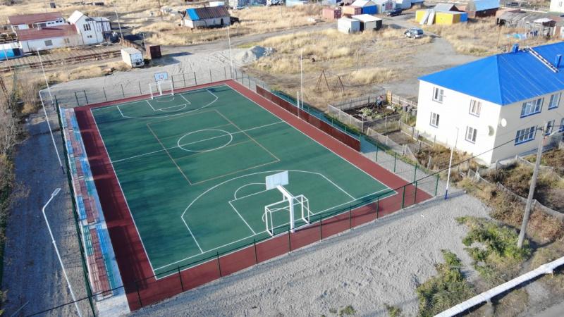 В селе Ивашка появилось новое футбольное поле.